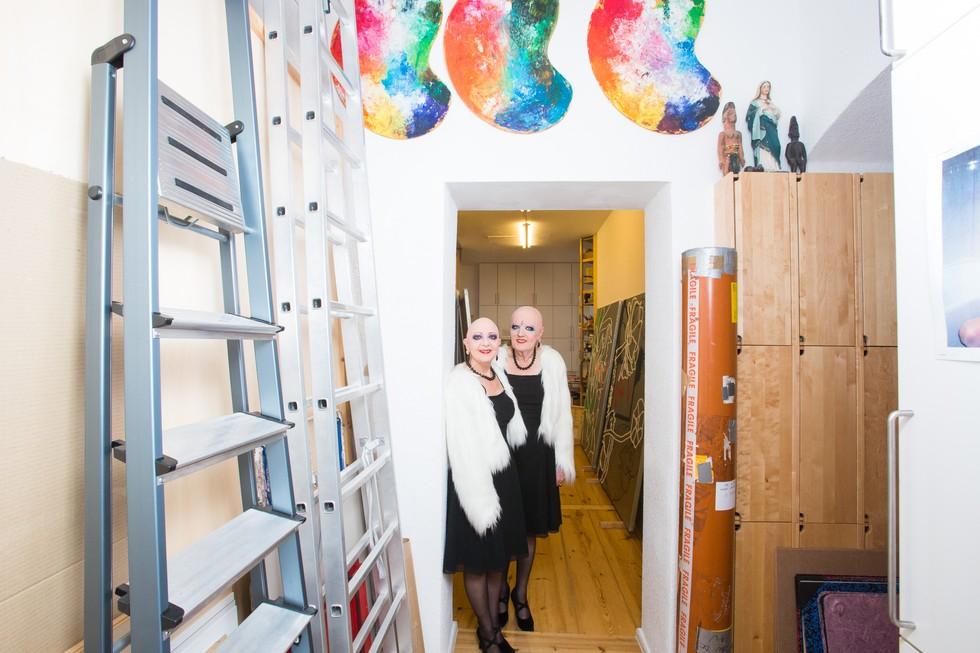 Eva and Adele Berlin