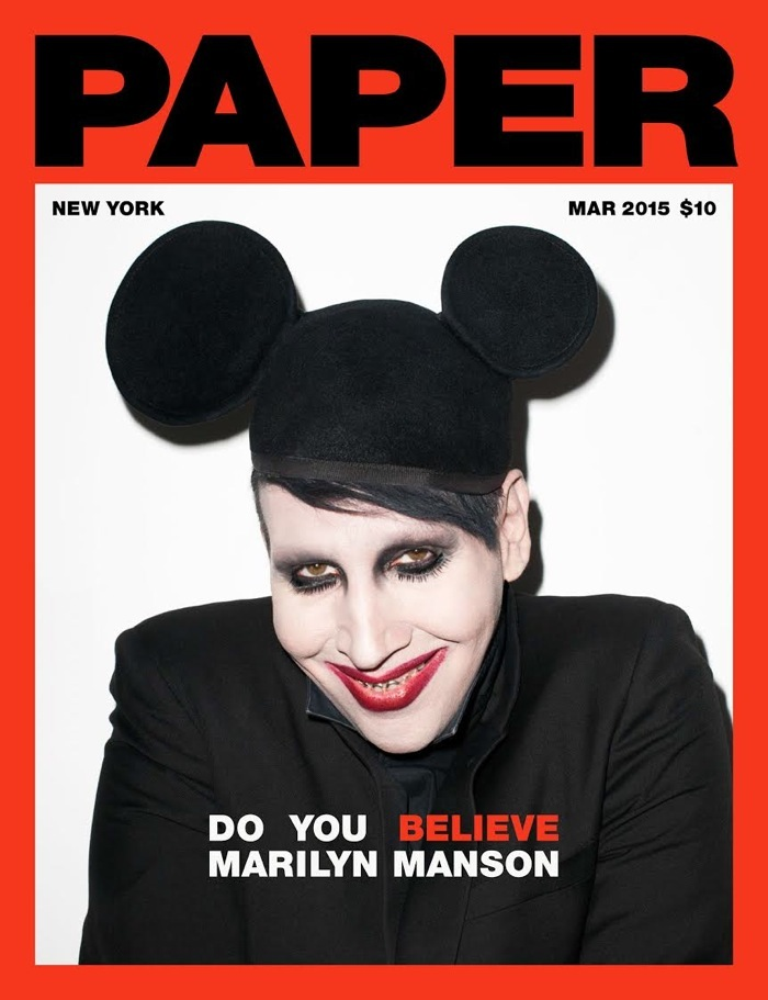Marilyn manson shows us his soft side paper marilyn manson shows us his soft side bookmarktalkfo Images