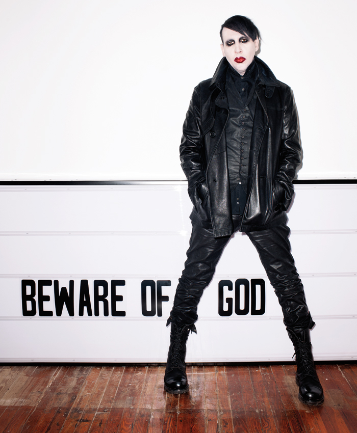 Marilyn Manson Shows Us His Soft Side - PAPERMAG Justin Timberlake Tour 2015
