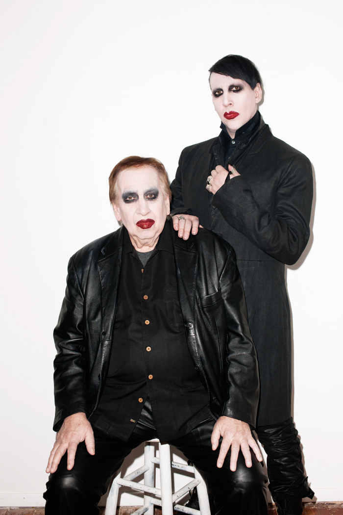 Marilyn manson shows us his soft side paper bookmarktalkfo Images