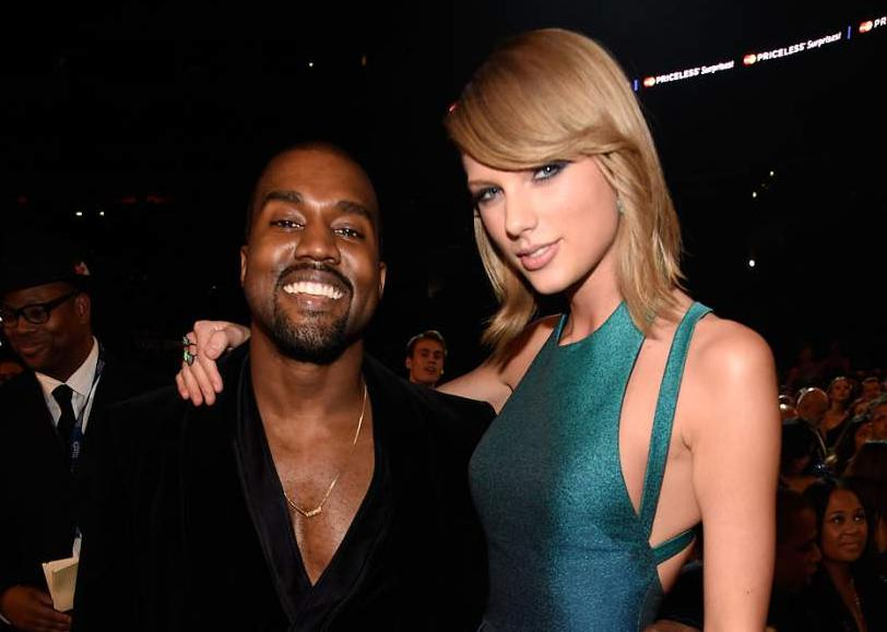 Kanye West Graciously Agrees to Help Taylor Swift Record Music