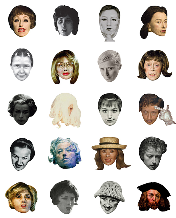 Next Time, Say It With Cindy Sherman Emoticons