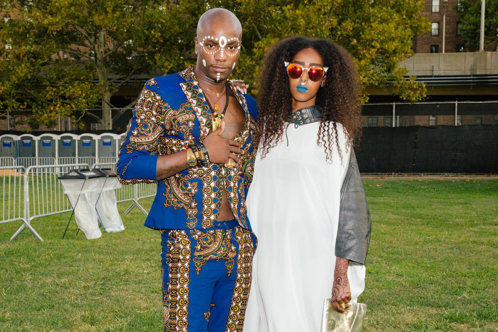 Scenes From The Afropunk Fancy Dress Ball Paper