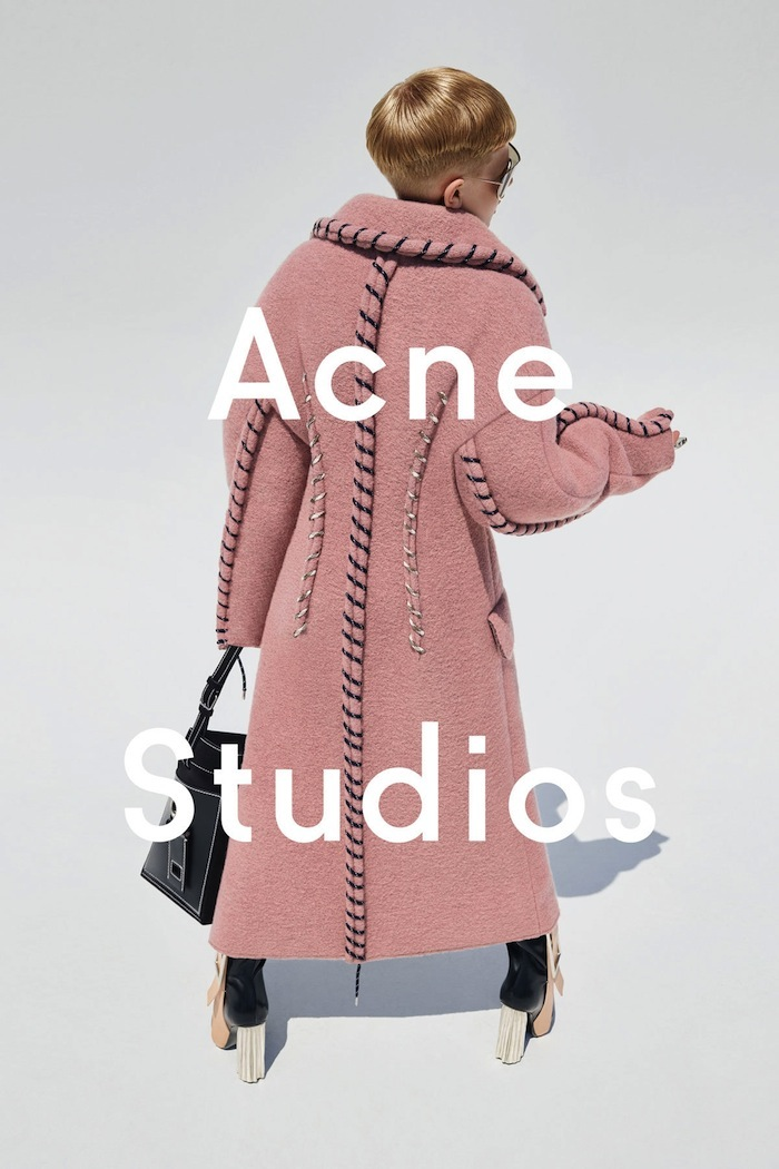 Acne Studio's New Campaign Star Is An 11-Year-Old Boy In Heels