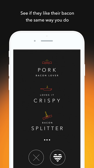 sizzle app dating There's now a digital space for bacon enthusiasts to meet and, hopefully, fall in love tech crunch reports that meat processing giant oscar mayer has launched sizzl, a dating app functionally similar to tinder that matches users based on compatible tastes in bacon users rank which cut of.