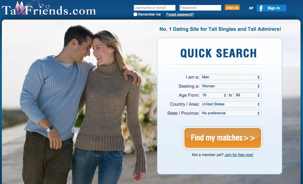 dating site search