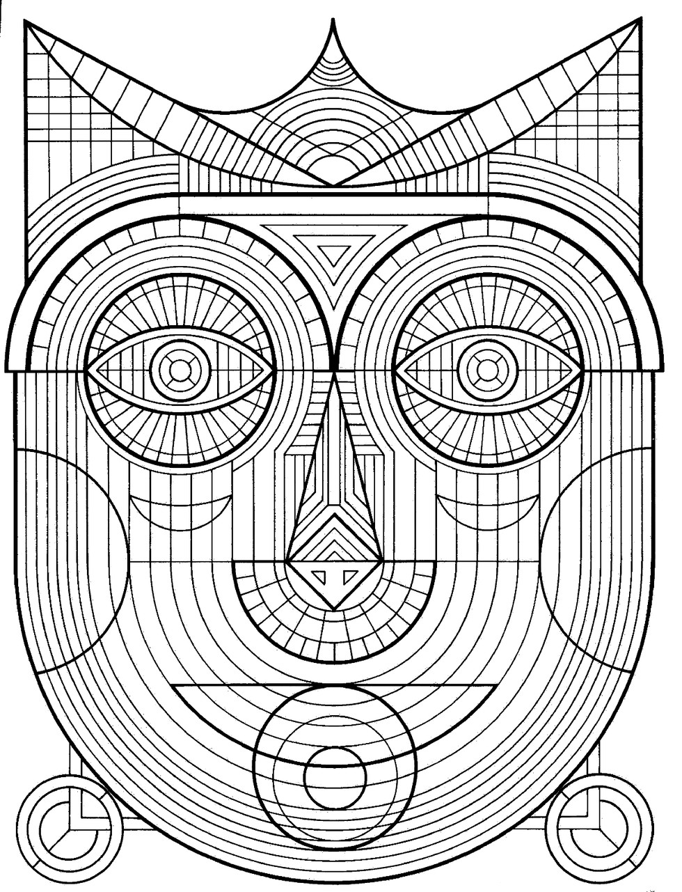 3d coloring pages - These Printable Mandala And Abstract Coloring Pages Relieve Stress And Help You Meditate