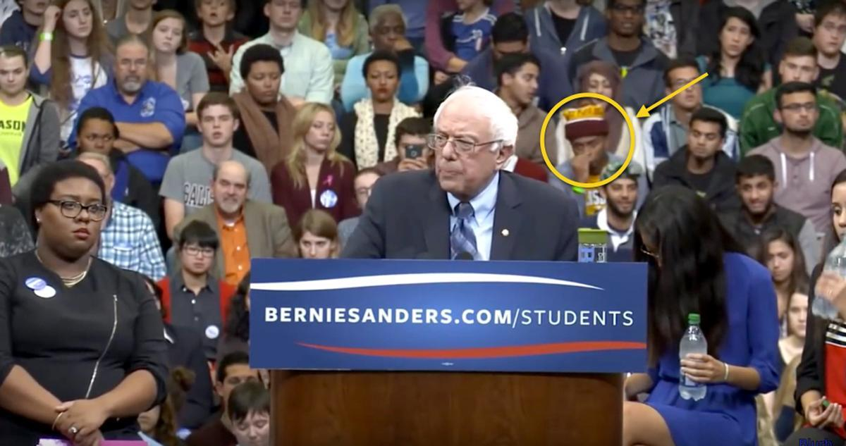 This Guy Wasn't Expecting Bernie Sanders To Say THAT!