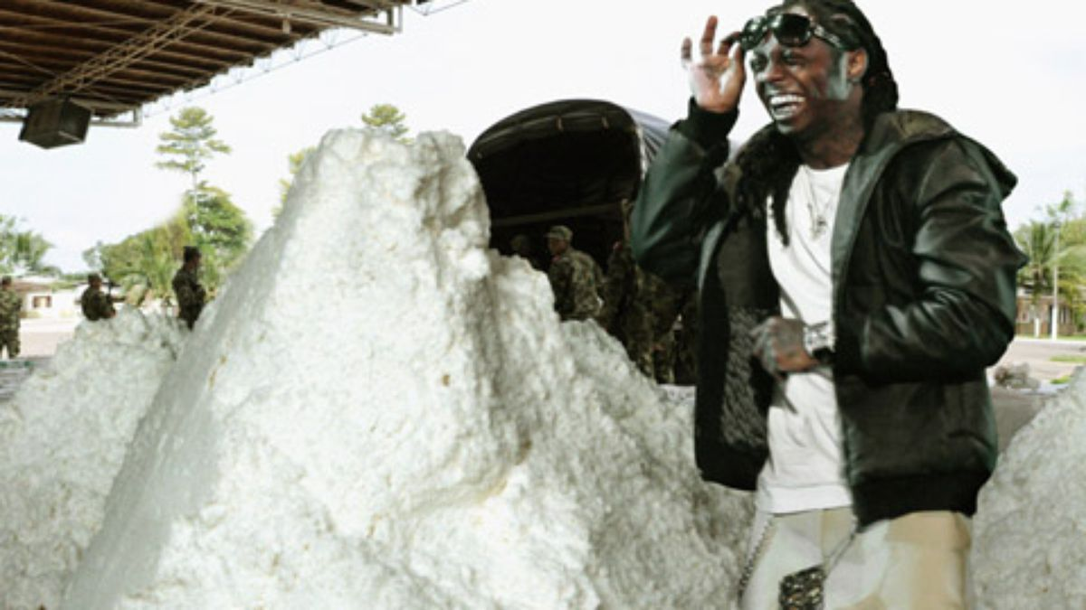 DEA Recruits Lil Wayne To Use Up All The Drugs In Mexico