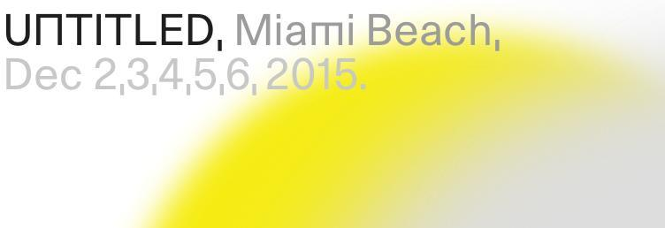 4c8488a33 The fourth edition of UNTITLED Miami is on the beach at Ocean Drive and  12th Street from December 2 to 6