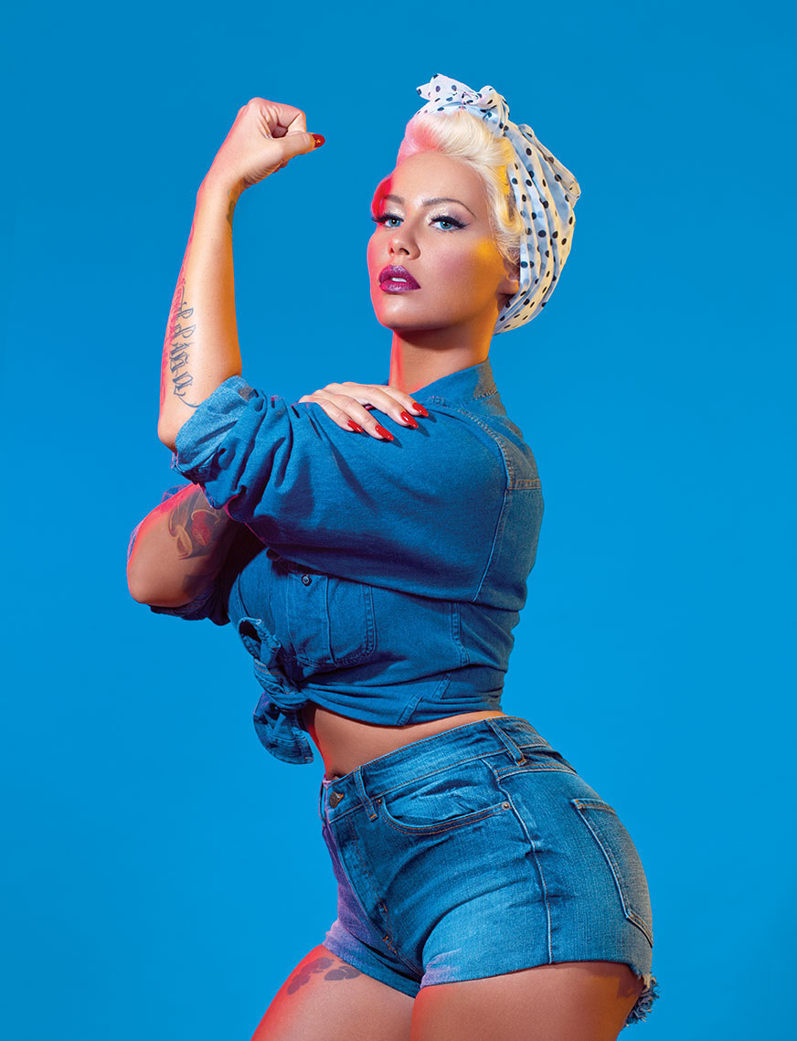 Young Amber Rose nudes (81 foto and video), Topless, Hot, Twitter, cameltoe 2015