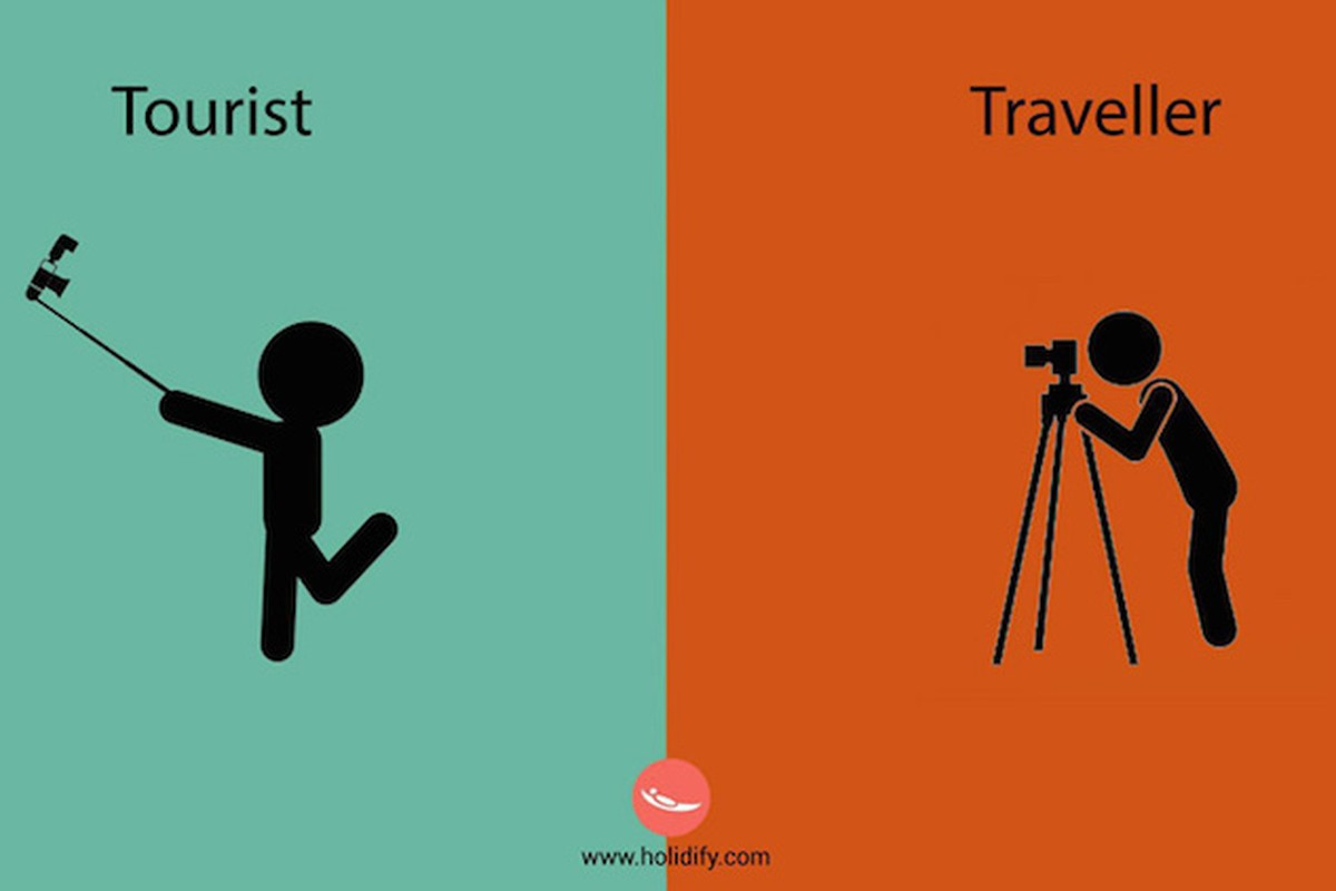 8 Distinct Differences Defining Tourists Vs. Travelers