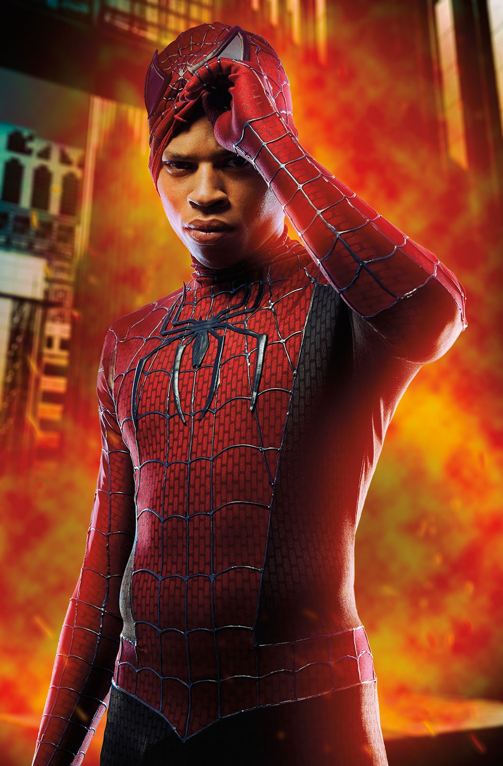 Bryshere Y Gray Is The Spectacular Spider-Yazz - Paper-2918