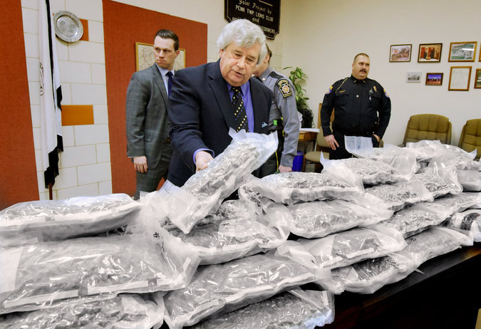 California Drug Enforcement Official Caught With $2M Worth Of Marijuana