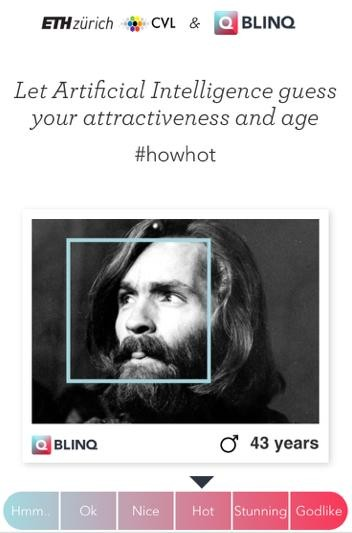 Blinq dating app uses ai to judge hotness test