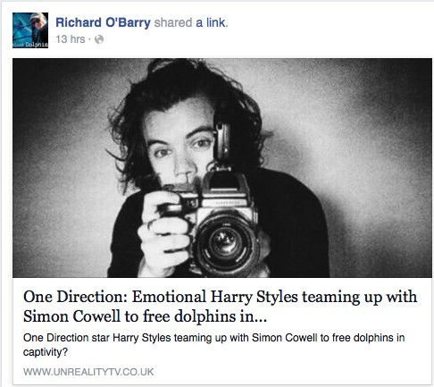 Is Simon Cowell and Harry Styles Joining Ric O'Barry? The O'Barry