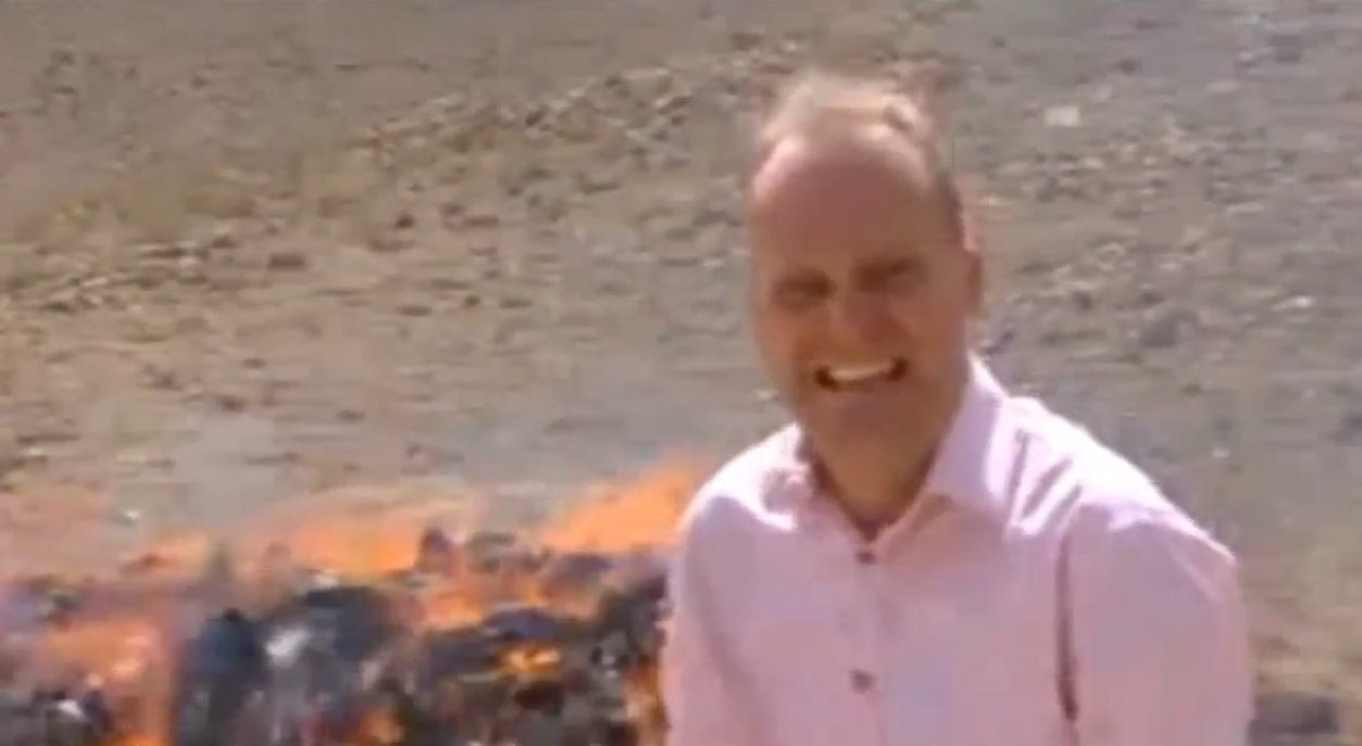 Watch: BBC Reporter Accidently Gets High Covering Drug Story