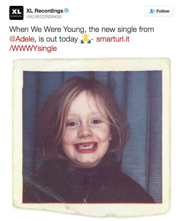When We Were Young: Adele Shares Throwback Single Art For 'When We Were Young