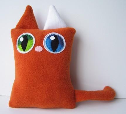 Handmade Kitty Cat Plush Toys Love Meow