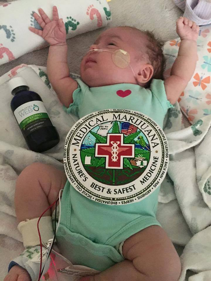 She's The Second Infant To Receive Cannabis Oil at Aurora's Children's Hospital This Month