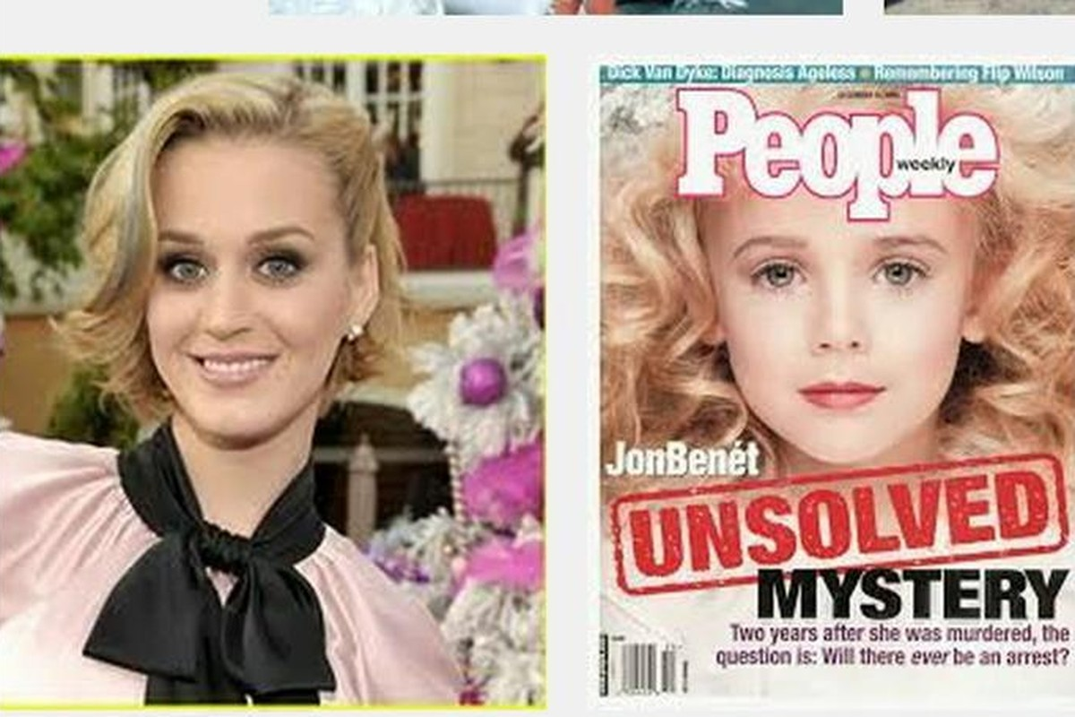 Is Katy Perry Actually JonBenet Ramsey? Internet Conspiracy Theorists Say Yes.