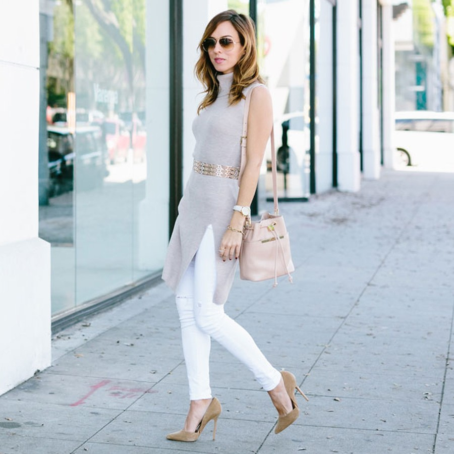 Most Flattering White Jeans - Jeans Am