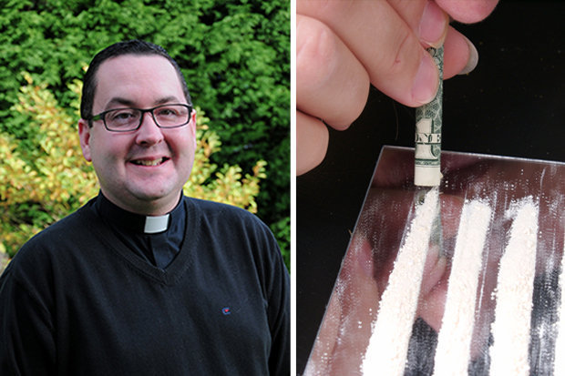 Watch This Catholic Priest Snort Cocaine In a Room Full of Nazi Gear