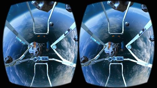 end space VR screen shot