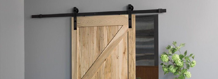Shopping diy complete barn door kits the snug for Complete barn home kits
