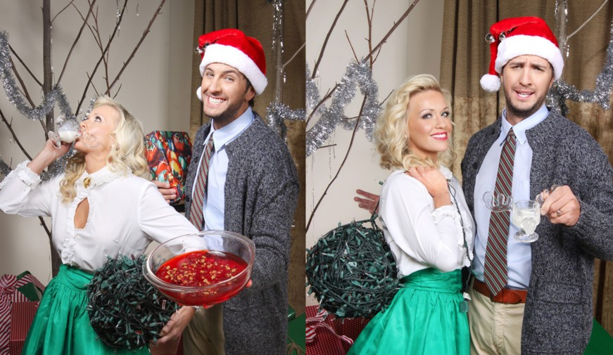 Luke and Caroline Bryan Sent Out the Best Christmas Card Ever (Of ...