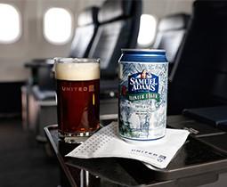 Onboard Seasonal Beer Selection