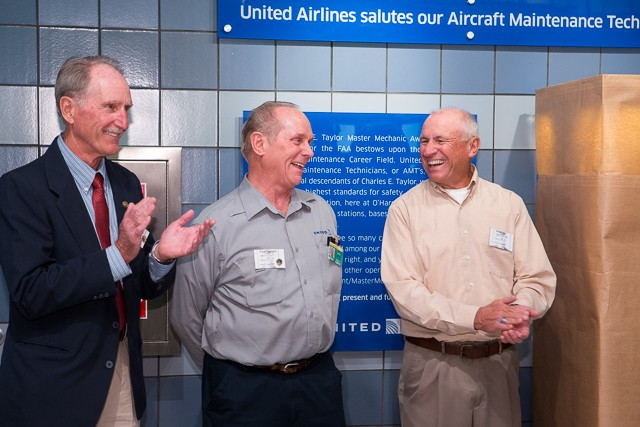United Salutes Aircraft Maintenance Technicians