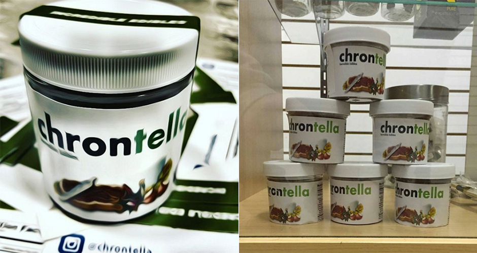 Weed-Infused Nutella is a Thing, And It's Glorious
