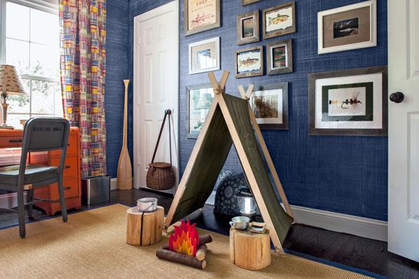 Kids Rooms And Nurseries Nicer Than Your Room The Snug Similiar Camp Room Keywords