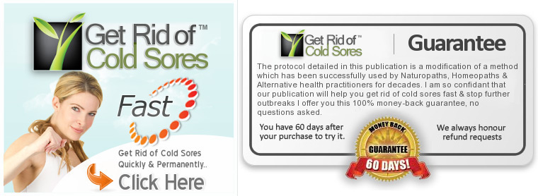 Cold Sore Free Forever within 3 Days!!
