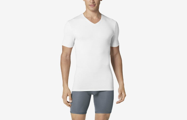 Tommy John Cool Cotton High V Neck Undershirt