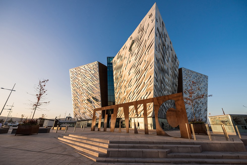 The Ultramodern Titanic Belfast