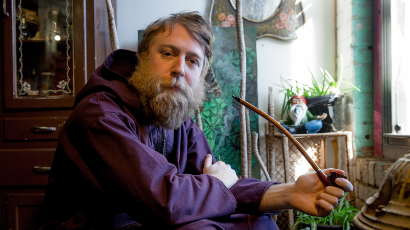 Pot-Smoking Wizard Launches Kickstarter Campaign For a Chill Quest