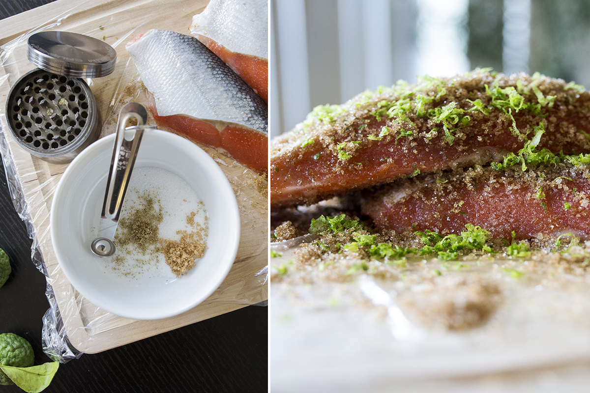 You Definitely Want To Wake Up To Kief & Kaffir Lime Gravlax