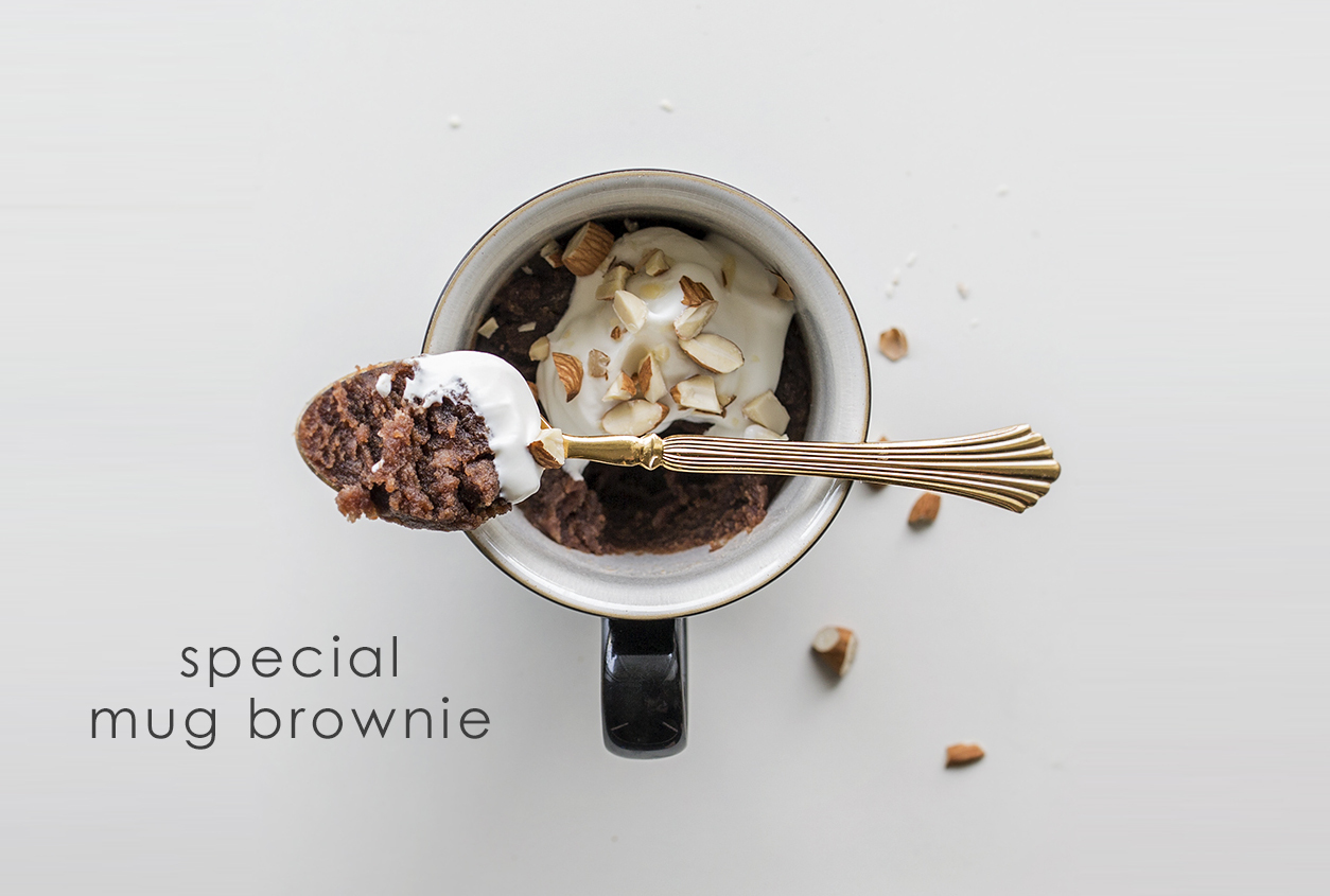 Watch: How To Make Nutella Pot Brownies in a Coffee Mug