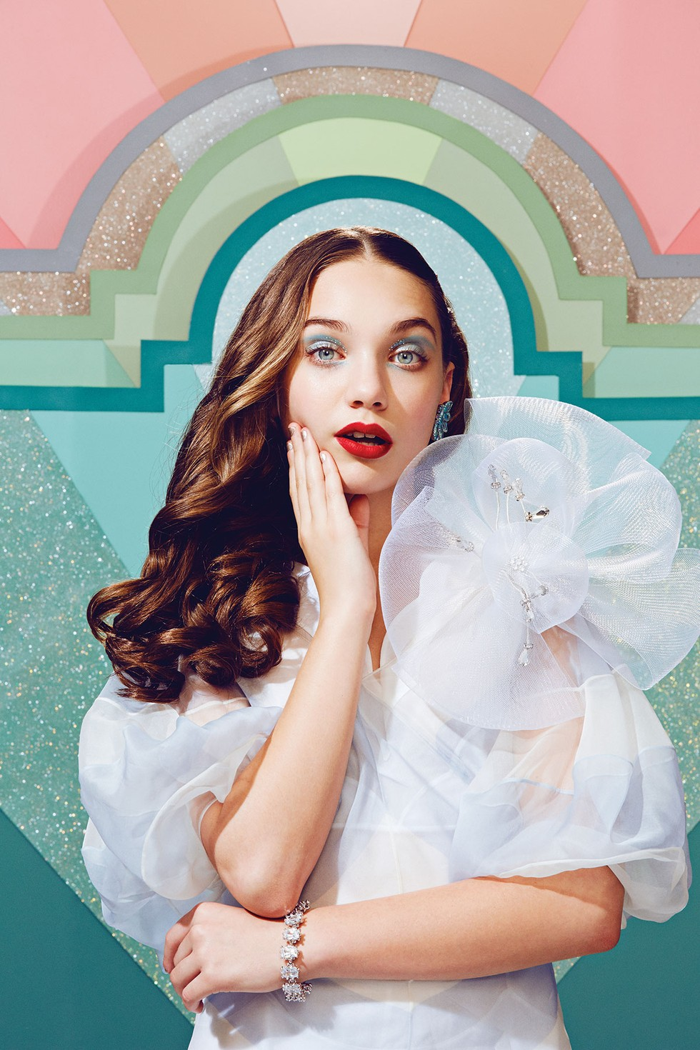 Maddie Ziegler's Sparkly Beauty Shoot - PAPER