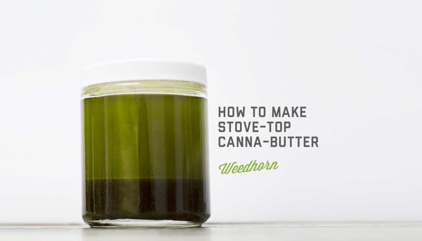 How to Make Stove-Top CannaButter