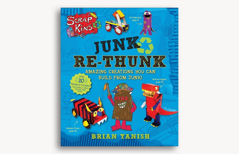 ScrapKins: Junk Re-Thunk by Brian Yanish