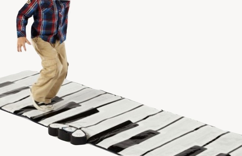 Giant Electronic Floor Mat Keyboard