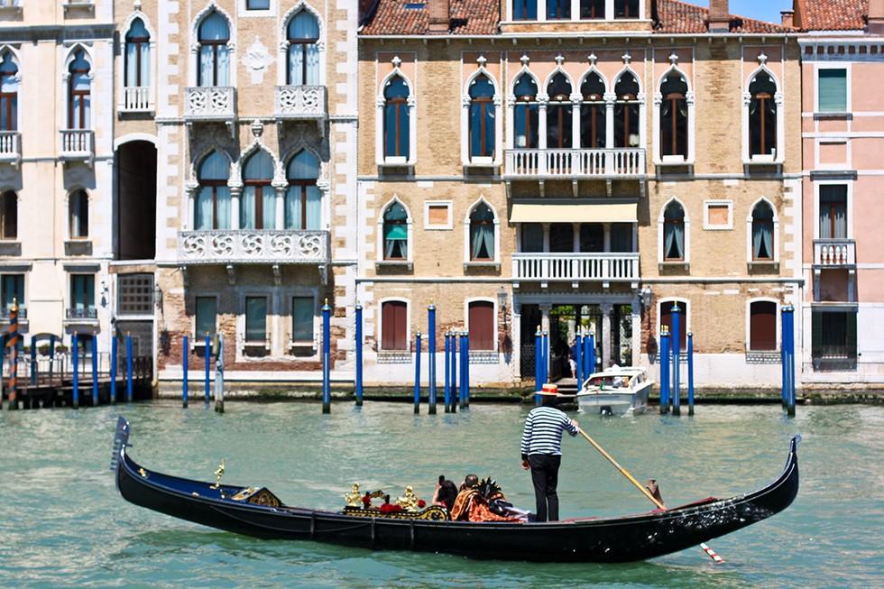 Peruse Through Venice on a Gondola