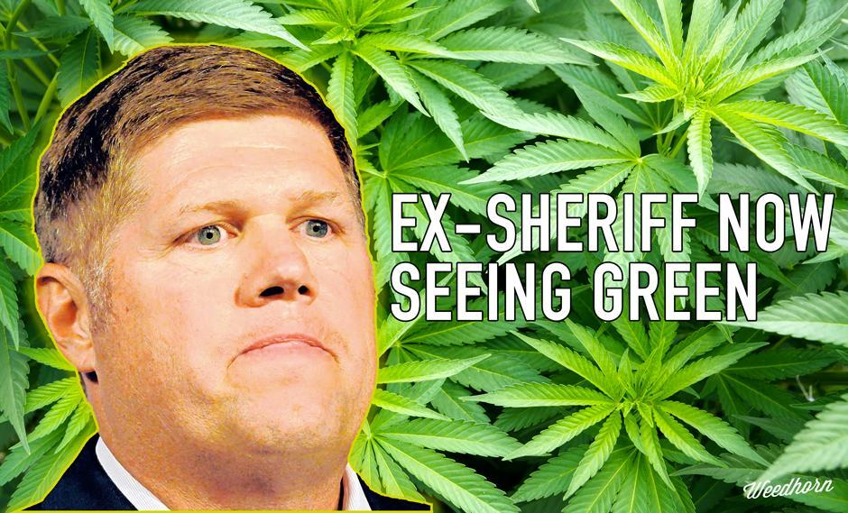 Ex-Sheriff Now Using Medical Marijuana for Pain