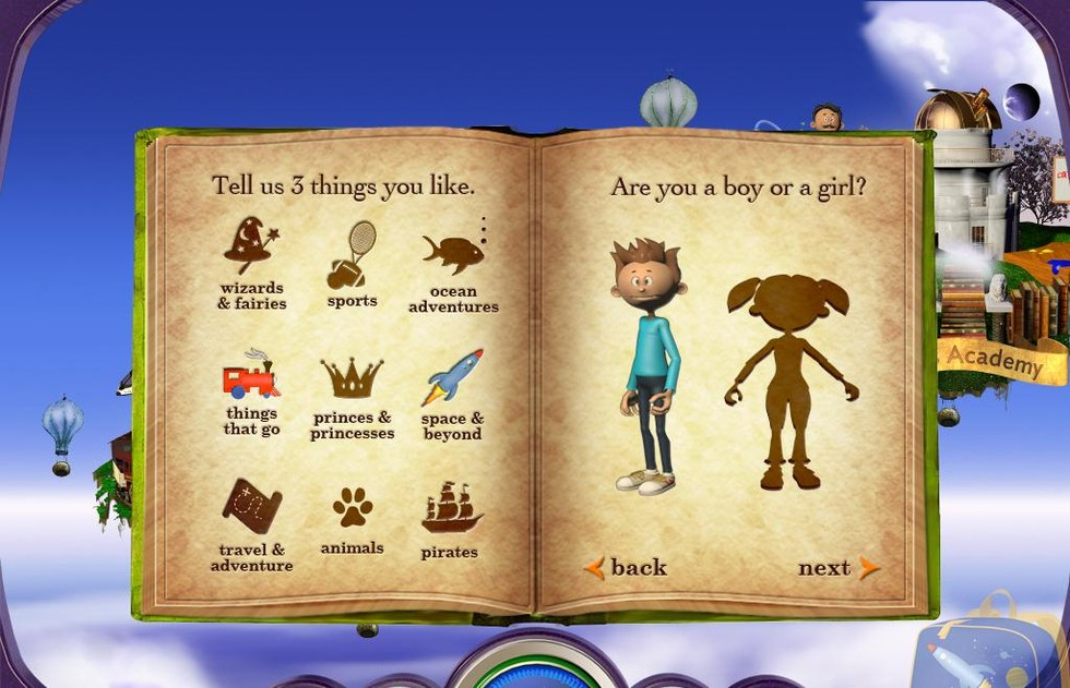 Reading Rainbow Skybrary Family -- back-to-school educational apps