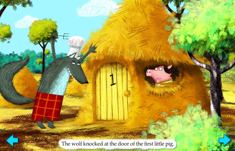 The Little Pigs: Nosy Crow Interactive Story Book
