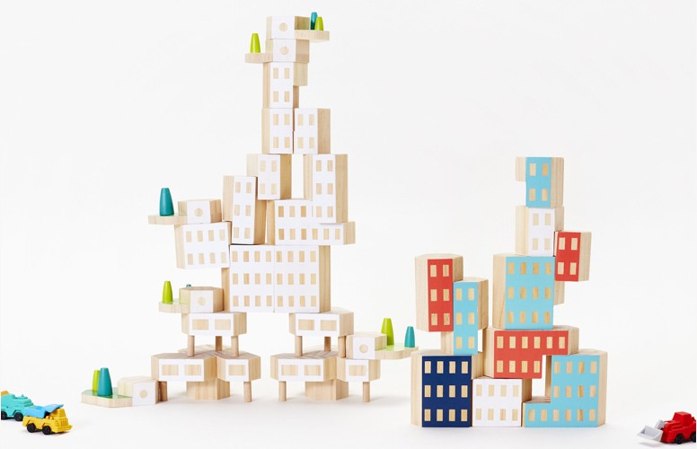 Blockitecture Bundle -- gifts for 1-year-olds