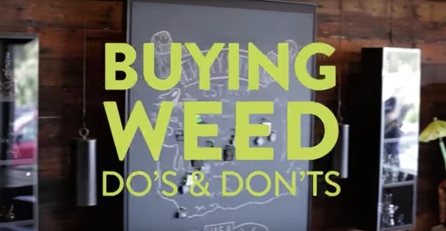 Watch: The Basics of Buying Pot at a Dispensary